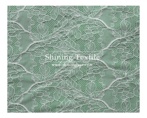 Jacquard French Lace Fabric