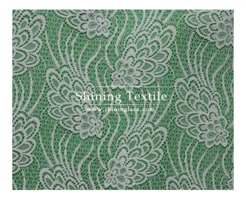 Flower Textronic Lace Fabric