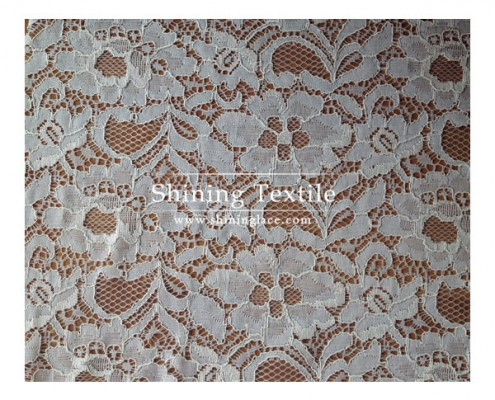 Corded Nylon Lace Fabric