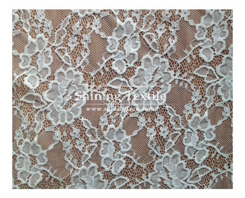 Nylon Lycra Lace Fabric