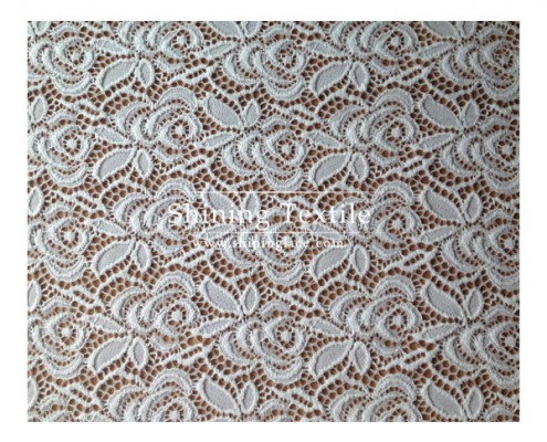 Floral Nylon Lace Fabric