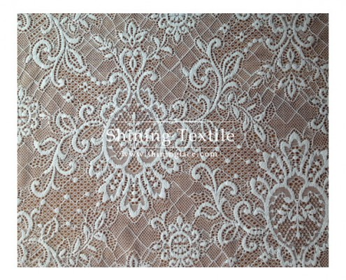 Nylon Knitted Lace Fabric